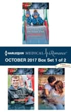 Harlequin Medical Romance October 2017 - Box Set 1 of 2 - Sleigh Ride with the Single Dad\A Firefighter in Her Stocking\A Christmas Miracle ebook by Alison Roberts, Janice Lynn, Amy Andrews