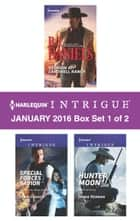 Harlequin Intrigue January 2016 - Box Set 1 of 2 - An Anthology ekitaplar by B.J. Daniels, Janie Crouch, Jenna Kernan