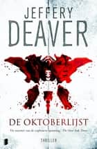 De oktoberlijst ebook by Jeffery Deaver