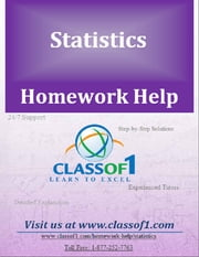 Calculation of Expected Value and Variance Using Probability Distribution ebook by Homework Help Classof1