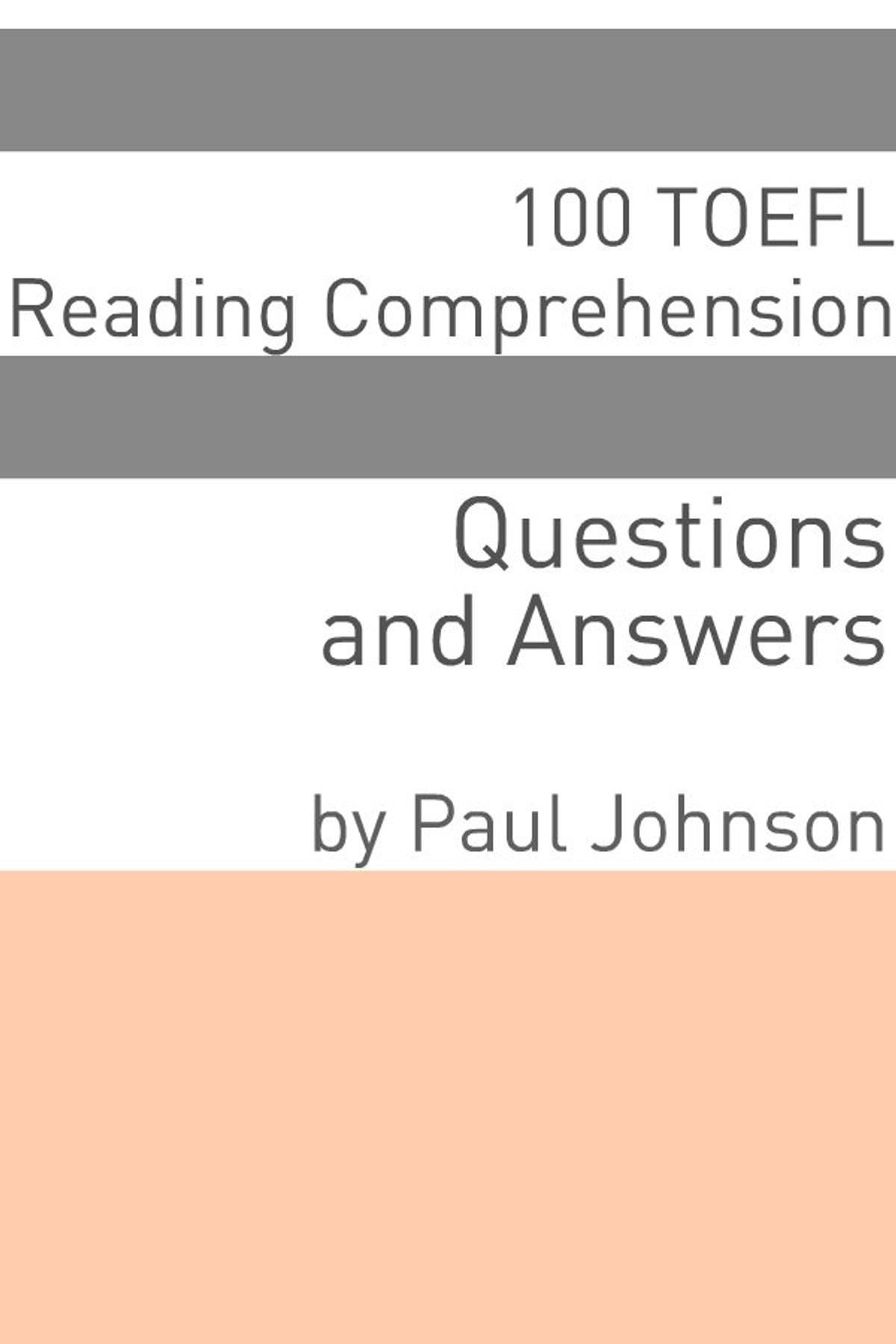 100 TOEFL Reading Comprehension Questions and Answers eBook by Minute Help  - 9781610427654 | Rakuten Kobo