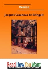 Venice ebook by de Seingalt Jacques Casanova