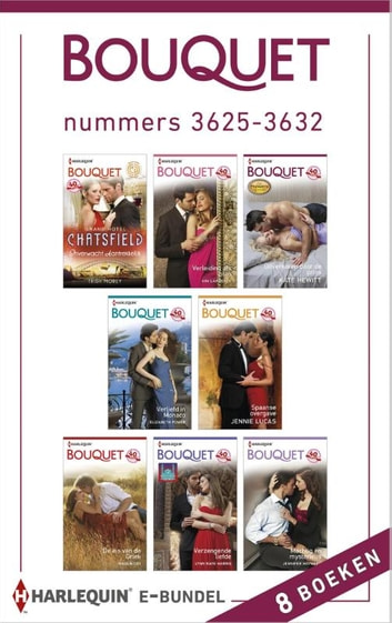 Bouquet e-bundel nummers 3625-3632 (8-in-1) ebook by Trish Morey,Kim Lawrence,Kate Hewitt,Elizabeth Power,Jennie Lucas,Maggie Cox,Lynn Raye Harris,Jennifer Hayward