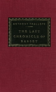 The Last Chronicle of Barset ebook by Anthony Trollope