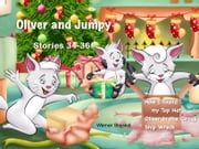 Oliver and Jumpy - the Cat Series, Stories 34-36, Book 12 - Bedtime stories for children in illustrated picture book with short stories for early readers. ebook by Werner Stejskal