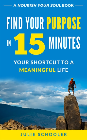 Find Your Purpose in 15 Minutes - Your Shortcut to a Meaningful Life ebook by Julie Schooler