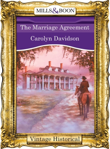 The Marriage Agreement ebook by Carolyn Davidson