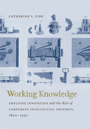 Working Knowledge - Employee Innovation and the Rise of Corporate Intellectual Property, 1800-1930 ebook by Catherine L. Fisk
