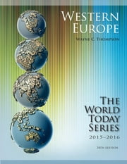 Western Europe 2015-2016 ebook by Wayne C. Thompson