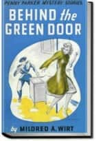 BEHIND THE GREEN DOOR ebook by Mildred A. Wirt