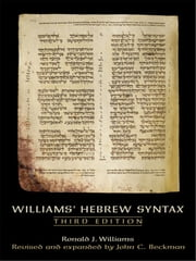 Williams Hebrew Syntax (3rd Edition) ebook by John C. Beckman