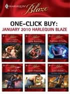 One-Click Buy: January 2010 Harlequin Blaze ebook by Tori Carrington,Tawny Weber,Julie Kenner,Kathleen O'Reilly,Jo Leigh,Sarah Mayberry