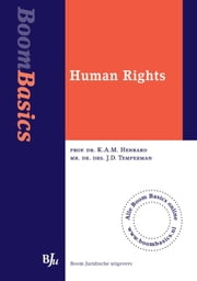 Human rights ebook by KAM Henrard, JD Temperman