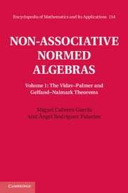 Non-Associative Normed Algebras: Volume 1, The Vidav–Palmer and Gelfand–Naimark Theorems ebook by Miguel Cabrera García,Ángel Rodríguez Palacios