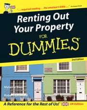 Renting Out Your Property For Dummies ebook by Melanie Bien,Griswold