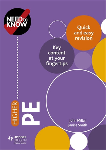 Need to Know: Higher PE ebook by John Millar,Janice Smith