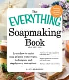 The Everything Soapmaking Book - Learn How to Make Soap at Home with Recipes, Techniques, and Step-by-Step Instructions - Purchase the right equipment and safety gear, Master recipes for bar, facial, and liquid soaps, and Package and sell your creations ebook by Alicia Grosso
