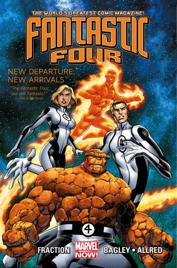 Fantastic Four Vol. 1: New Departure, New Arrivals ebook by Matt Fraction
