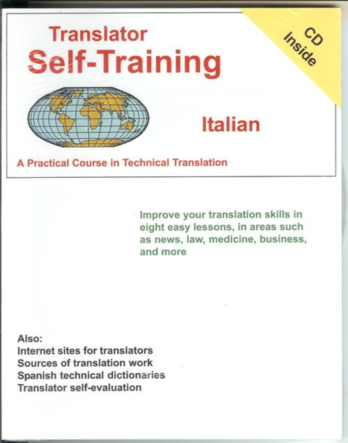 Translator Italian: Translator Self-Training--Italian EBook By Morry Sofer
