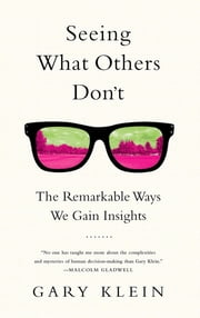 Seeing What Others Don't - The Remarkable Ways We Gain Insights ebook by Gary Klein