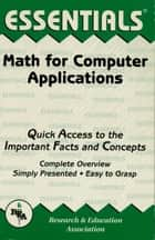 Math for Computer Applications ebook by The Editors of REA