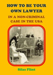 How to be Your Own Lawyer in a Non-Criminal Case in the United States of America ebook by Silas Flint