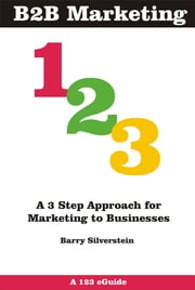B2B Marketing 123: A 3 Step Approach for Marketing to Businesses ebook by Barry Silverstein