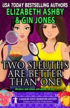 Two Sleuths are Better Than One (a Danger Cove Crossover Mystery) ebook by Elizabeth Ashby, Gin Jones