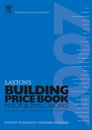 LAXTON'S BUILDING PRICE BOOK 2007 ebook by Johnson, V B