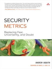 Security Metrics ebook by Jaquith, Andrew