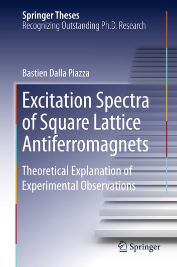 Excitation Spectra of Square Lattice Antiferromagnets - Theoretical Explanation of Experimental Observations ebook by Bastien Dalla Piazza