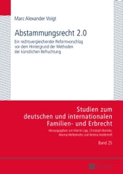 Abstammungsrecht 2.0 ebook by Marc Alexander Voigt
