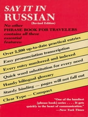 Say It in Russian (Revised) ebook by Dover