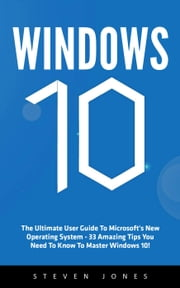 Windows 10 ebook by Steven Jones