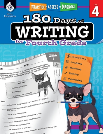 180 Days Of Writing For Fourth Grade Practice Assess Diagnose Ebook By Kemp