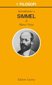 Introduzione a Simmel ebook by Marco Vozza