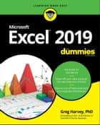 Excel 2019 For Dummies ebook by Greg Harvey