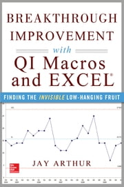 Breakthrough Improvement with QI Macros and Excel: Finding the Invisible Low-Hanging Fruit - Finding the Invisible Low-Hanging Fruit ebook by Jay Arthur