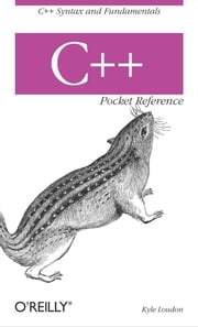 C++ Pocket Reference ebook by Kyle Loudon