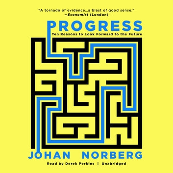 Progress - Ten Reasons to Look Forward to the Future audiobook by Johan Norberg