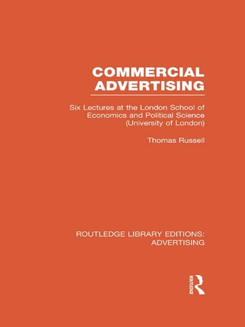 Commercial Advertising (RLE Advertising) ebook by Thomas Russell