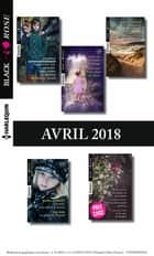 11 romans Black Rose (nº472 à 474 - Avril 2018) ebook by Collectif