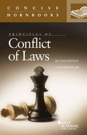 Principles of Conflict of Laws ebook by Clyde Spillenger