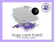 "Dogs Can't Paint! - ""Paint Nite"" gone haywire! ebook by Michelle Tucker"