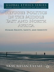 Refugee Politics in the Middle East and North Africa - Human Rights, Safety, and Identity ebook by AKM Ahsan Ullah