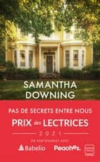 Pas de secrets entre nous ebook by