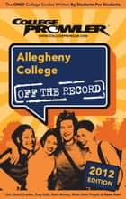 Allegheny College 2012 ebook by Katrina Tulloch