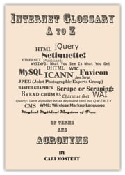 Internet Glossary A to Z of Terms and Acronyms ebook by Cari Mostert