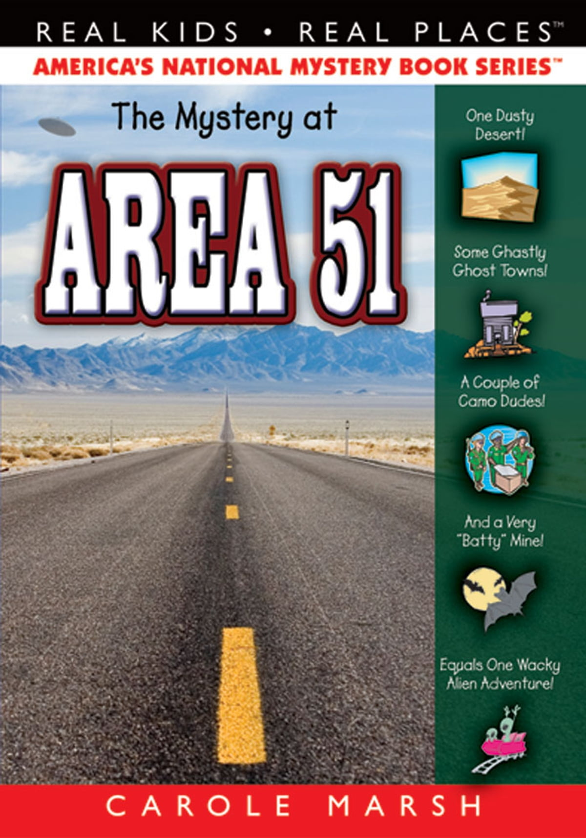 The Mystery At Area 51 Ebook By Carole Marsh 9780635079657