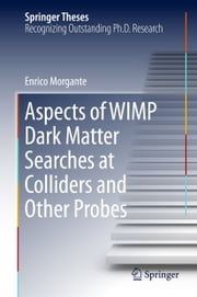 Aspects of WIMP Dark Matter Searches at Colliders and Other Probes ebook by Enrico Morgante